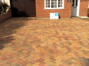 Block Paving near Binfield