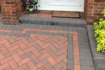 Elvetham Heath block paving driveway fitter
